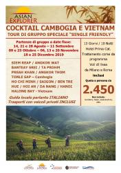 Cocktail Cambogia e Vietnam